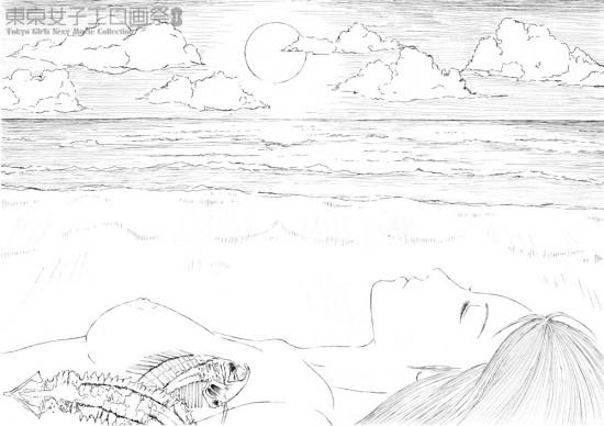 イトウユキ『海岸』